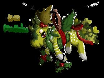 Mistletoe! (Squib calendar day 15) by GAMERSTYLE73