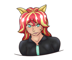 Sunset Shimmer Request by Managodess