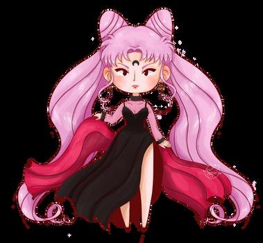 Lady Black Moon FanArt by Homishi by Homishimishi