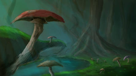 Mushrooms by ImorBrighthand