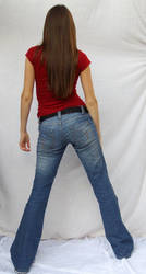 Denim and Red ::Stock 5:: by spiked-stock