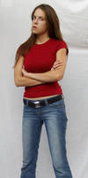 Denim and Red ::Stock 15:: by spiked-stock
