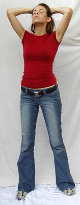 Denim and Red ::Stock 21:: by spiked-stock