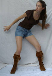 Shorts and Boots ::Stock 14:: by spiked-stock