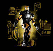 Steelers Ironman Schematic by Jone-Yee
