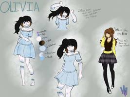 CP OC: Olivia by HondausMina