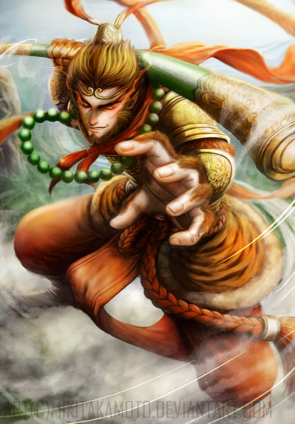 fb9cc0172 Monkey King - Sun Wukong by MikiTakamoto on DeviantArt