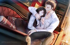 CM: Holmes and Rita by MikiTakamoto