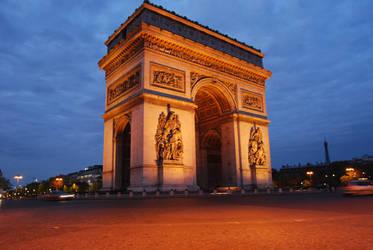 Arc de triomphe by josselin94