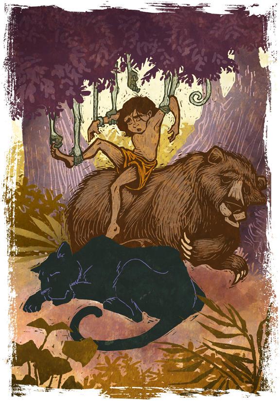 Mowgli taken by IngvardtheTerrible