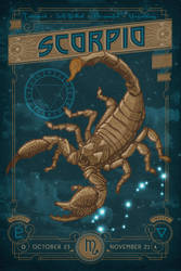 Zodiac 08 Scorpio by IngvardtheTerrible