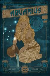 Zodiac 11 Aquarius by IngvardtheTerrible