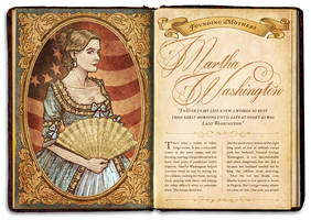 Martha Washington by IngvardtheTerrible