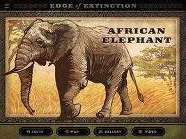 Edge of Extinction: African Elephant by IngvardtheTerrible