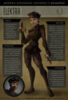 Superwomen 3 - Elektra by IngvardtheTerrible