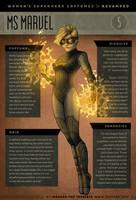 Superwomen 5 - Ms Marvel by IngvardtheTerrible