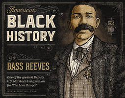 Black History - Bass Reeves by IngvardtheTerrible