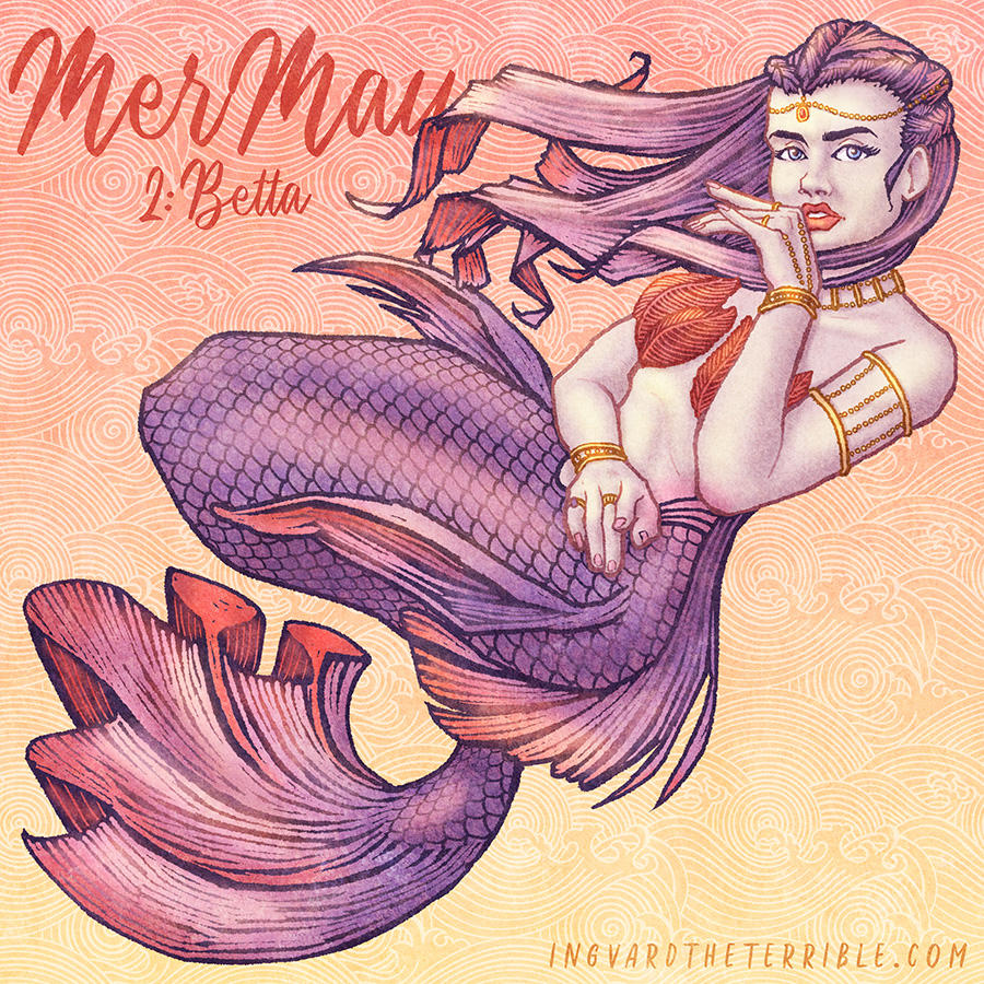 MerMay 2018: Day 2 by IngvardtheTerrible