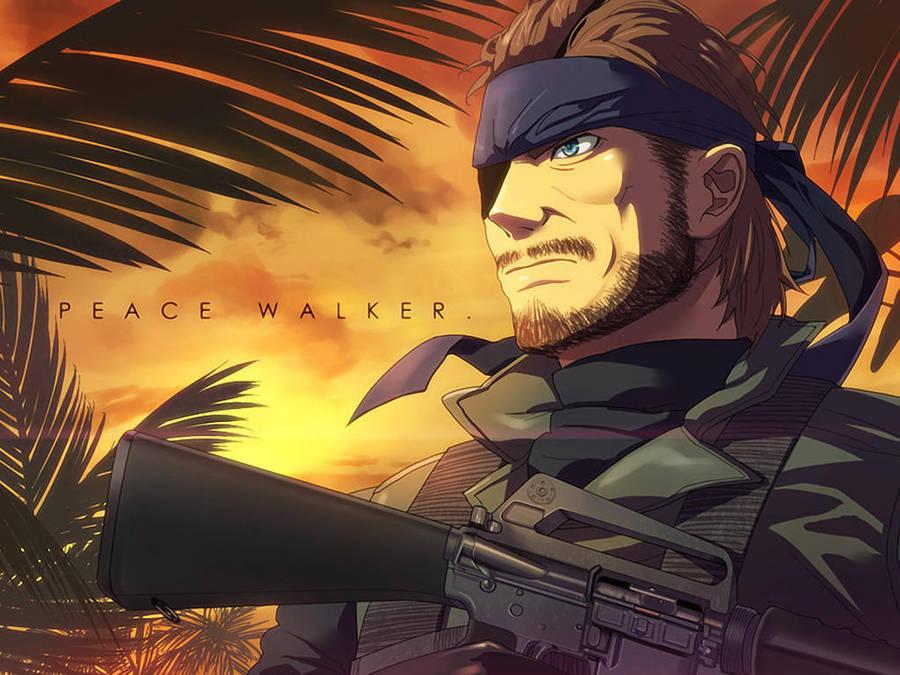 Mgs Peace Walker Wallpaper By Darksidernemesis On Deviantart