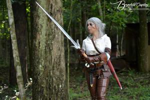 Ciri - The Witcher by Brynhild-Undomiel