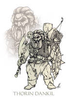Dwarf by Evandro-Barba