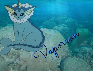 Vaporeon by Greeneyesmetblack