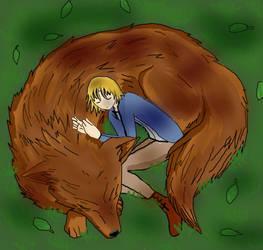 Wolf!Eremin by Greeneyesmetblack
