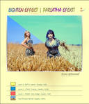 Lighten Effect PS Tutorials by Qebsenuef