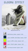 Gloomy Effect PS Tutorials by Qebsenuef