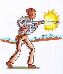 RimWorld Pistol Size by BlackPanzerDragon