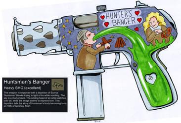 Huntman's Banger (RimWorld Art) by BlackPanzerDragon