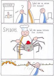 Spiders (RimWorld) by BlackPanzerDragon