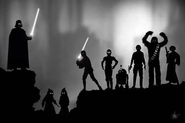 Star Wars/LIMBO by Nszerdy