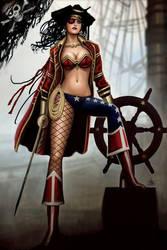 PIrate Wonder Woman by Nszerdy