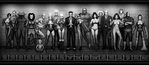 DC Usual Suspects by Nszerdy