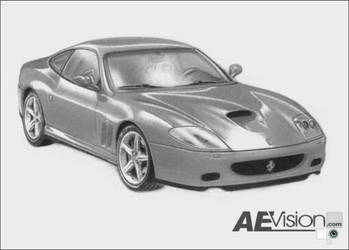 Ferrari Maranello 575 by AEvision