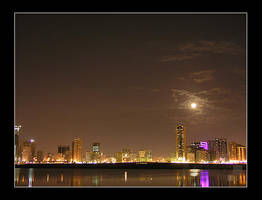 Sharjah at Night by AEvision