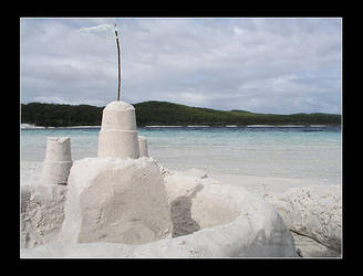 Sand Castle by AEvision