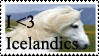 Better Icelandic stamp by SparklinBurgndy