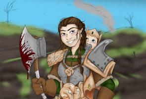 The Perfect Dwarf Woman by SparklinBurgndy