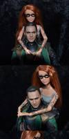 Verity and Loki by SparklinBurgndy