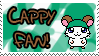 Cappy Fan Stamp by Atlanta-Hammy