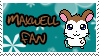Maxwell fan stamp by Atlanta-Hammy