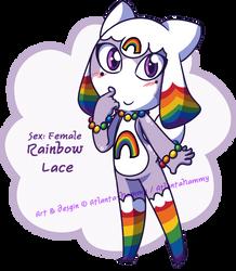 Rainbow Lace Keronian Adoptable (OPEN) by Atlanta-Hammy