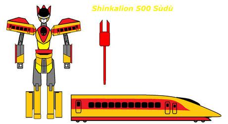 Shinkalion 500 Sudu by StormBringerBoy