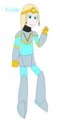 Verity (Mega Man X OC) by StormBringerBoy