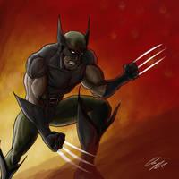 Wolverine the Berserker by RiekeRipples
