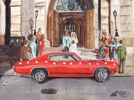 The Life Story Of A 1970 Chevy Chevelle (Part 6) by FastLaneIllustration