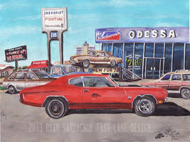 The Life Story Of A 1970 Chevy Chevelle (Part 10) by FastLaneIllustration