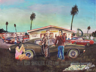 The Life Story Of A 1970 Chevy Chevelle (Part 23) by FastLaneIllustration
